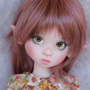 Pink Gracie Elf by Kaye Wiggs (on MeiMei Body)