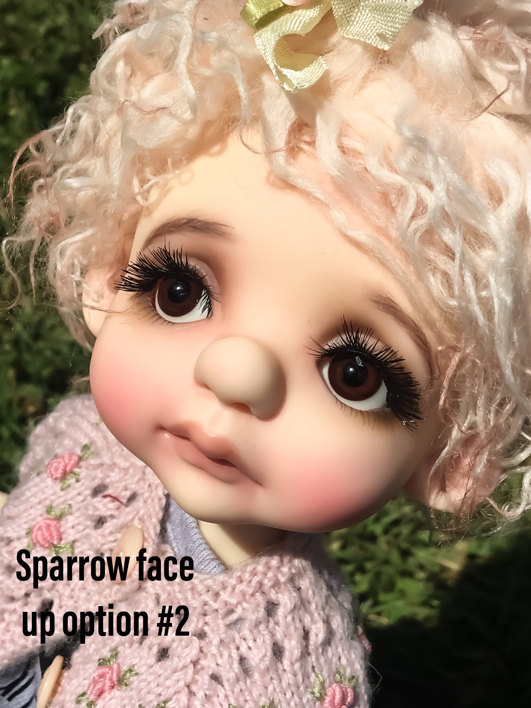 Sparrow by Tracy Promber - Faceup Option #2