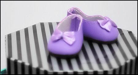 Millie Ballet Flats 39mm Violet