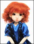 Sophia Darkest Carrot 6/7 Mohair Wig
