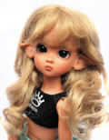 Collette Lightest Brown 6/7 Mohair Wig