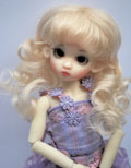 Collette Lightest Blonde 6/7 Mohair Wig