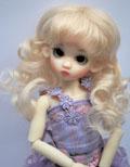 Collette Lightest Blonde 6/7 Mohair Wig