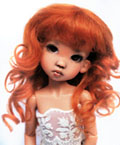 Collette Darkest Carrot 6/7 Mohair Wig