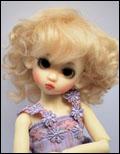 Sophia Lightest Blonde 6/7 Mohair Wig