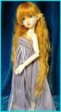 Fairy Wig Golden Honey 7/8