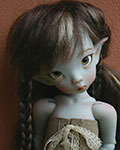 Linda Elf grey tone by Linda Macario (IN STOCK)