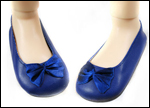 Ballet Flats Midnight Blue for Iris
