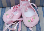 Ballet Shoes in Pink for Iris