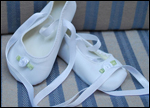 Ballet Shoes in White for Iris