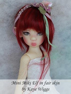 Mini Miki Elf in fair skin