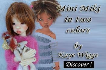 bjd mini miki by Kaye Wiggs
