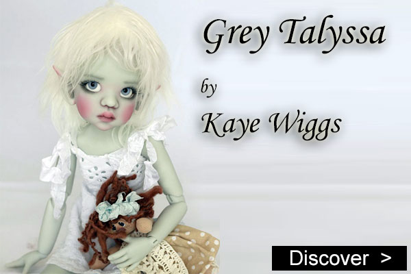 Talyssa Elf Grey by kaye wiggs