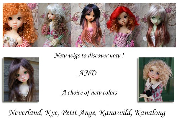 wigs by jpopdolls