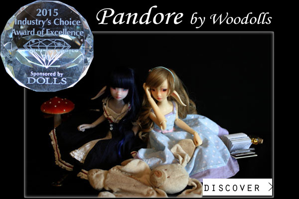 Pandore by woodolls