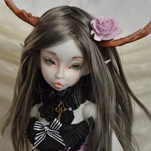 Raspberry elf grey by Asella