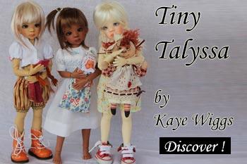 bjd tiny talyssa by kaye wiggs