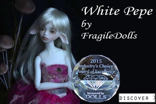 white pepe by fragiledolls