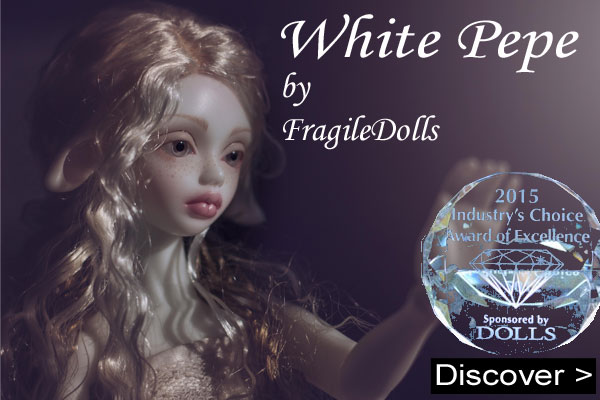 white pepe by fragiledolls