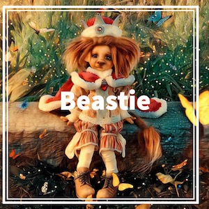 Tan Beastie by Tracy Promber