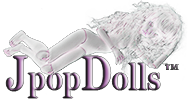 jpopdolls wigs for ball jointed dolls